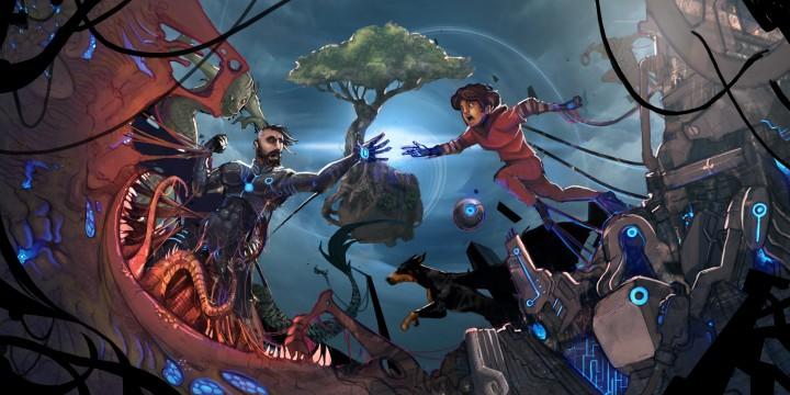 Concept art from Fede Ponce's Sebastian: The Slumberland Odyssey.