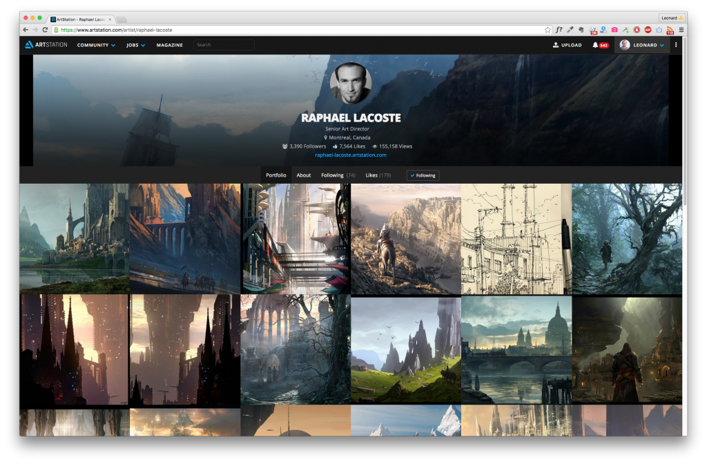 Artist profiles are now simpler and sleeker.