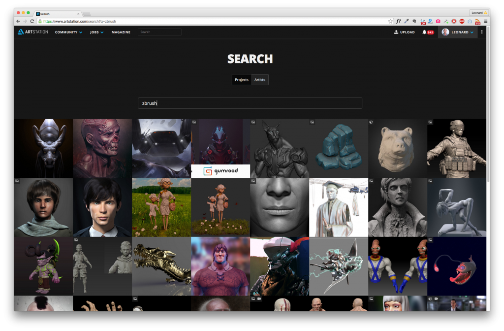 The search section has been revamped to match the style and UX of the home page.