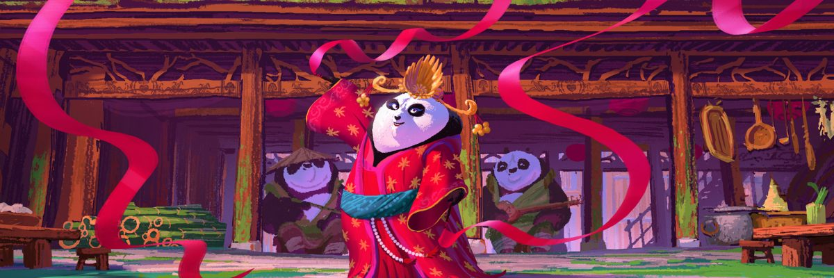 Visual development for Kung Fu Panda 3's Panda Village by Max Boas.
