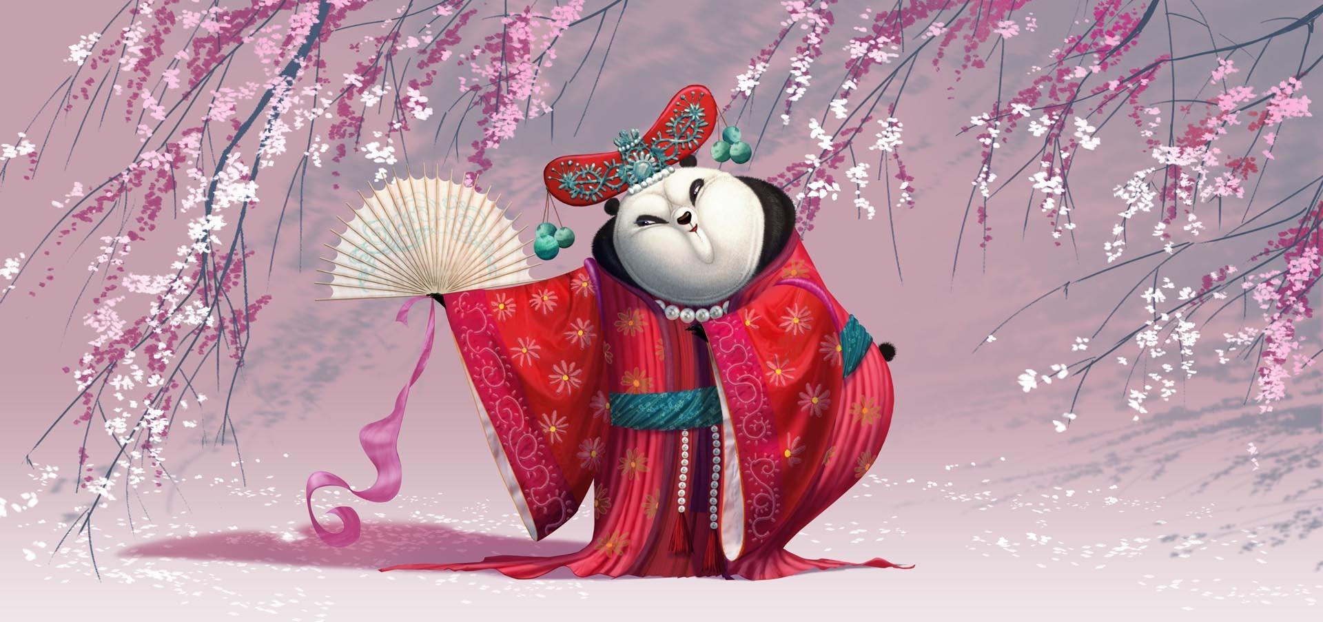 Mei Mei: concept art for Kung Fu Panda 3 by Raymond Zibach.
