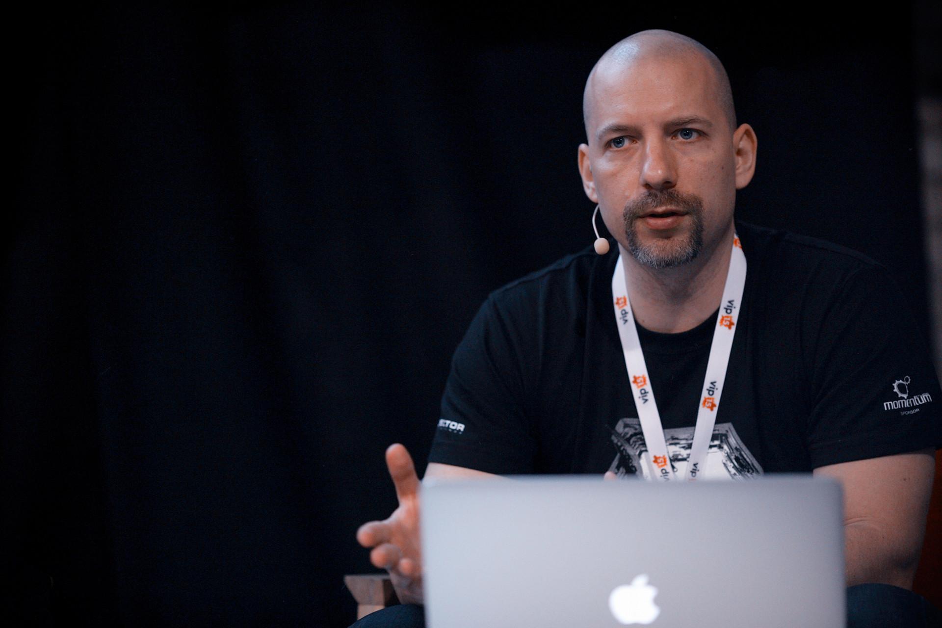 Ivan Šantić, creator of the ArtStation awards