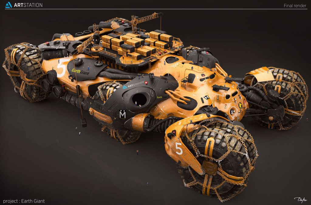 1st Place 3D Transport Art: Darko Markovic dar-mar