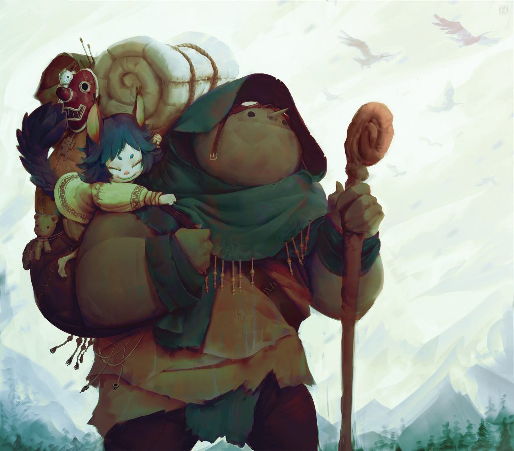 Honourable Mention 2D Character Art: Alexis Rives