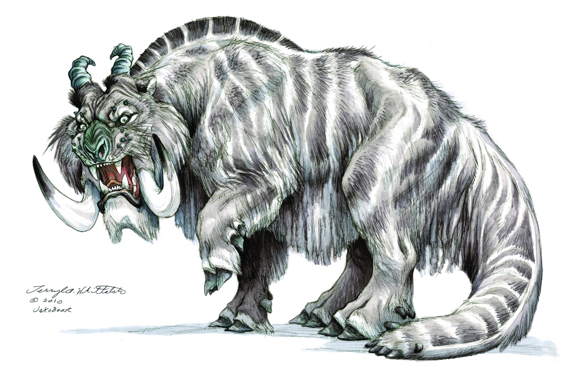 Jakobeast: concept art and creature design for the Star Wars universe.
