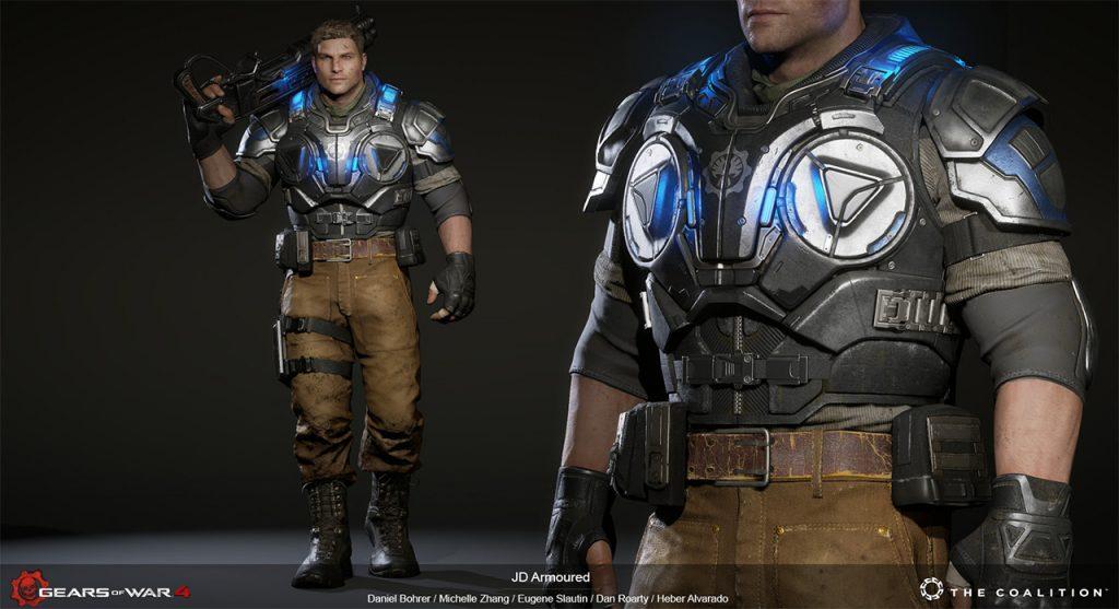 Daniel Bohrer do Nascimento (Character Artist): Gears of War 4