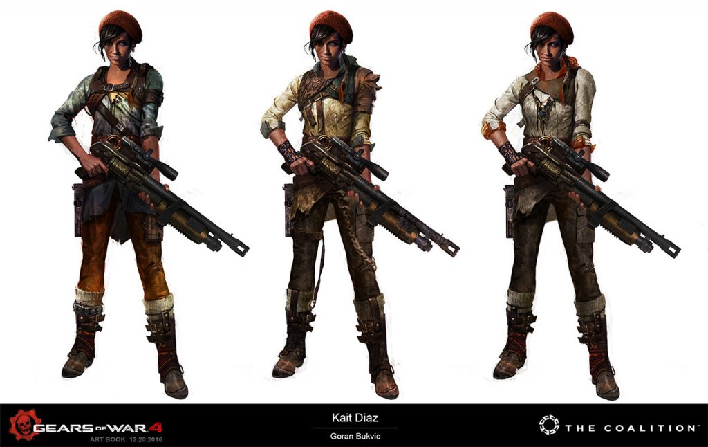Character Design Gears Of War : The coalition gears of war art blast