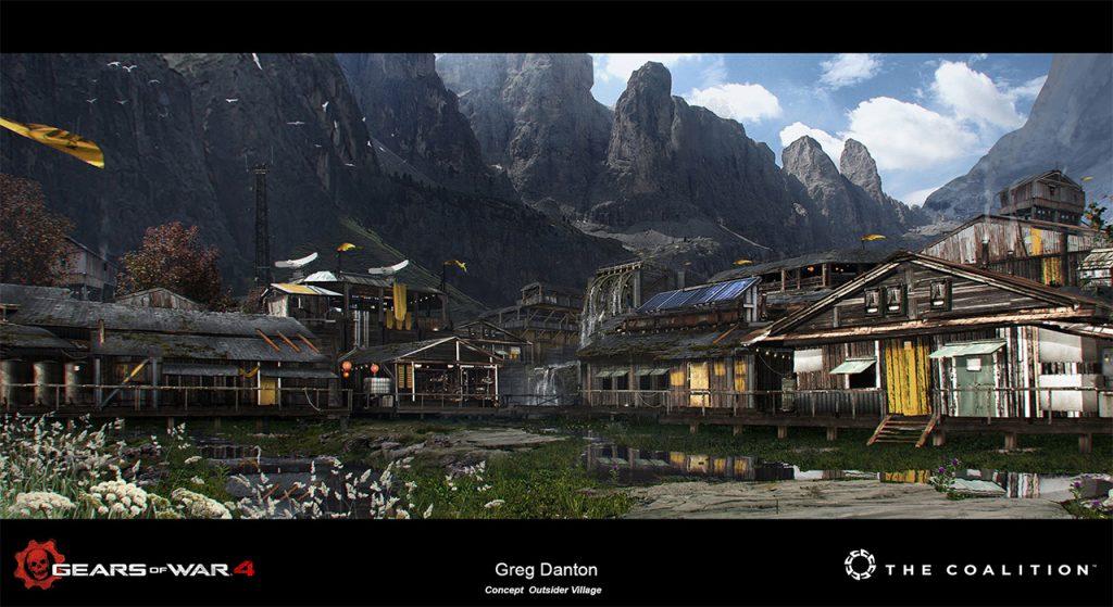 Greg Danton (Concept Artist): Gears of War 4
