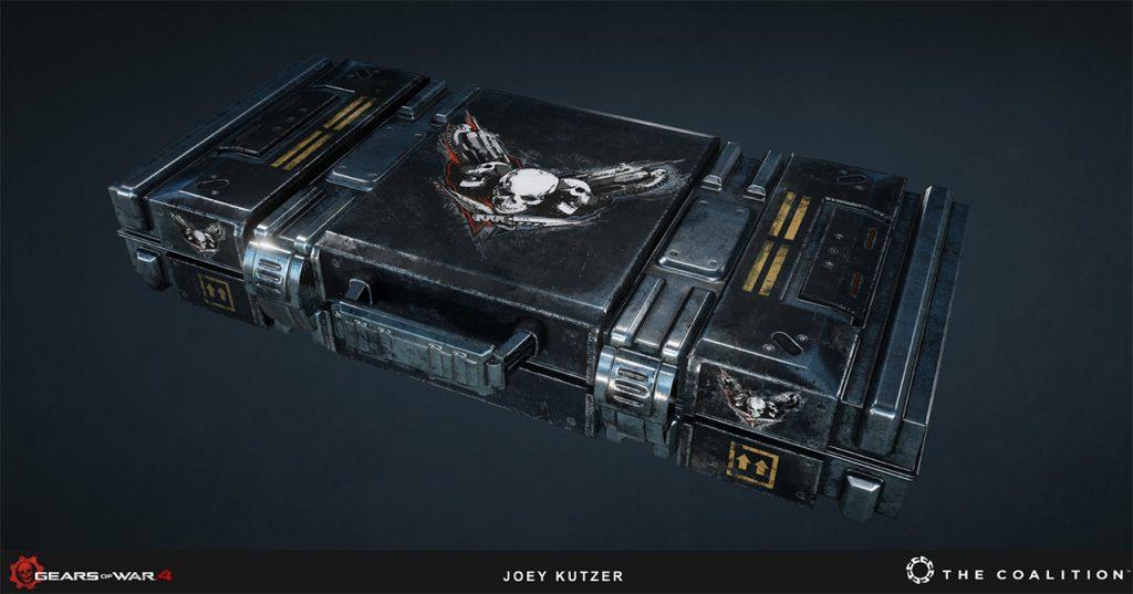 Joey Kutzer (Senior Environment Artist): Gears of War 4