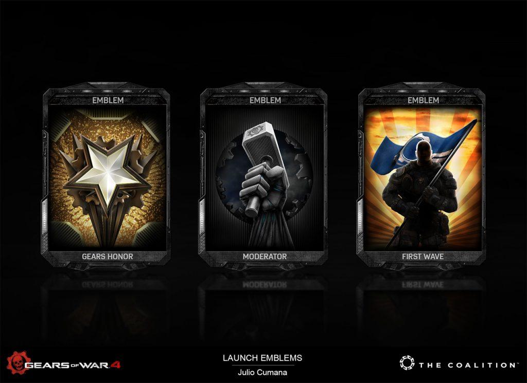Julio Cumana (Senior Designer): Gears of War 4