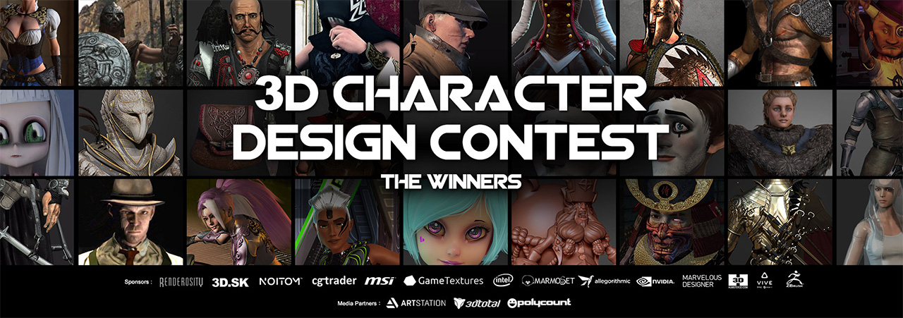 3d Character Design Competition : Reallusion iclone d character design contest winners
