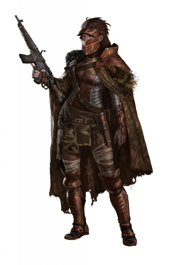 Character design from Degenesis