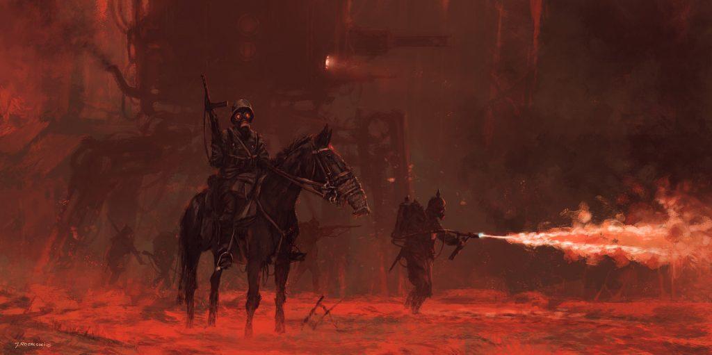Jakub pits cavalrymen against metal monsters in 1920+