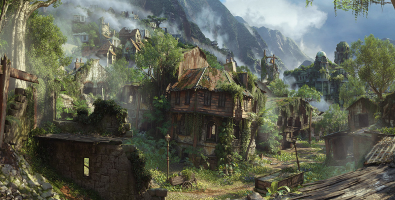Uncharted 4 Environment Art An Evening With Naughty Dog