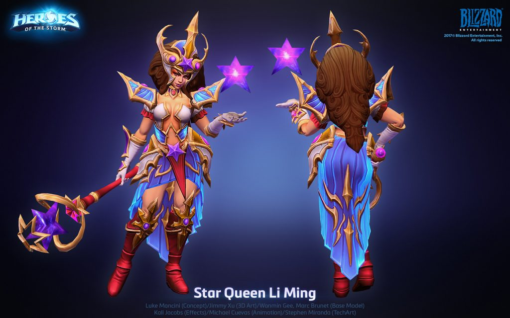 Jimmy Xu Character Artist Heroes Of The Storm 20