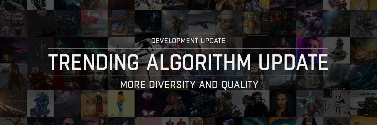 Updated Trending Algorithm for More Diversity