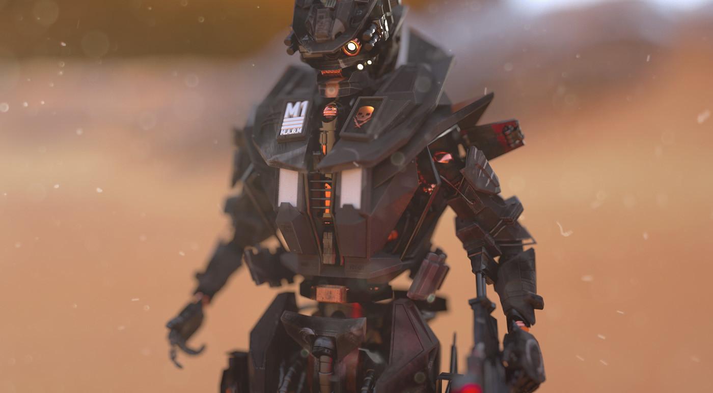 Hard Surface Sci-Fi Design in Cinema 4D - ArtStation Magazine