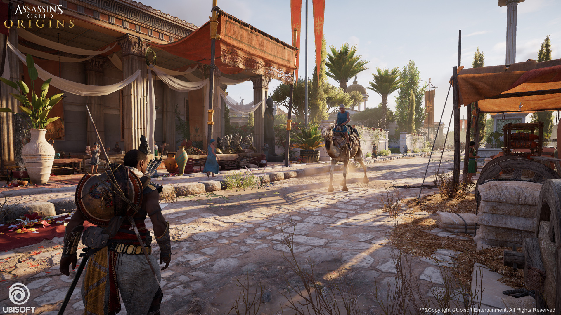 assassins creed origins discovery tour spielbarde - HD1920×1080