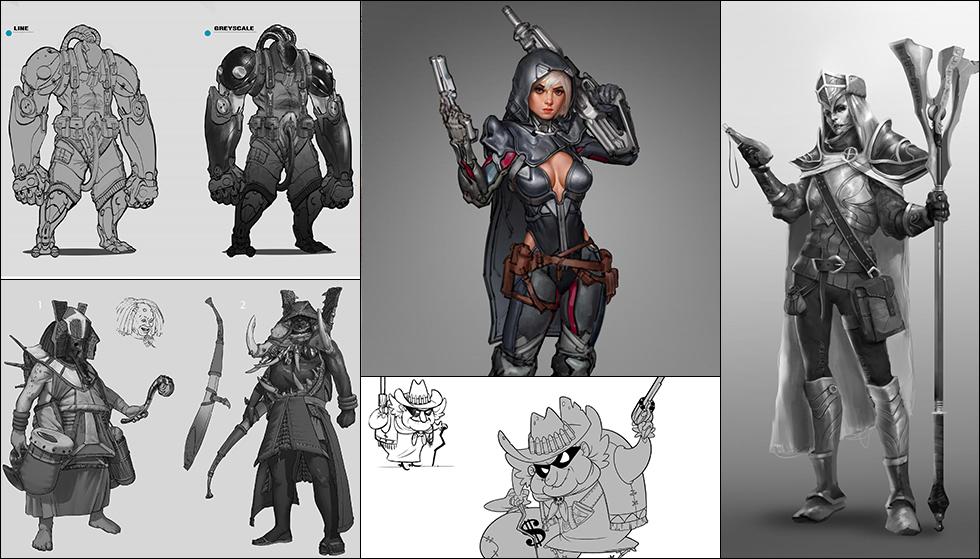 Character Design Fundamentals : Fall cgma student gallery