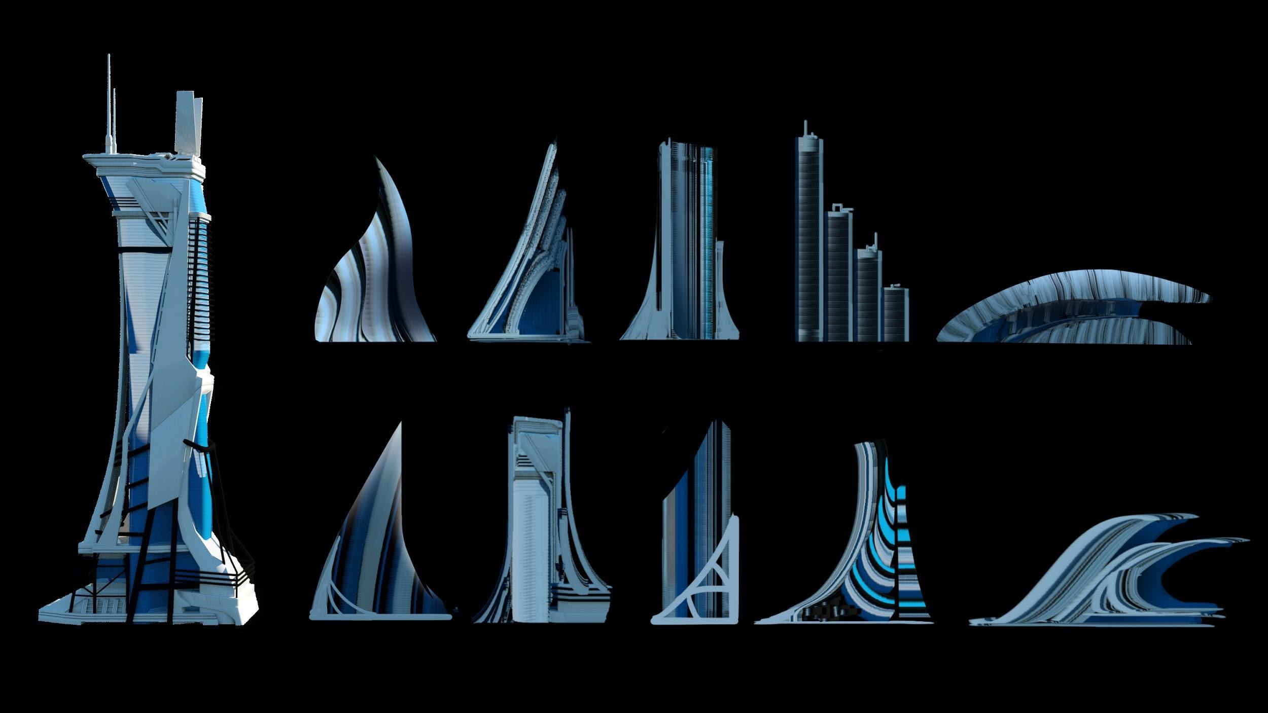 Utopia KitBash3d Tutorial with Leon Tukker - ArtStation Magazine