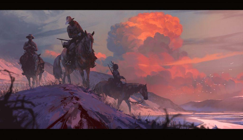 1st Place, Wild West: Keyframe Concept Art