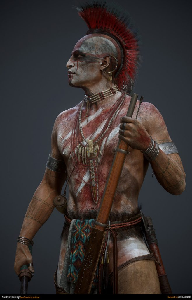3rd Place, Wild West: Game Character Art (real-time)
