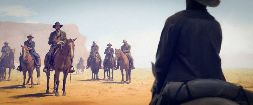 Honorable Mention, Wild West: Keyframe Concept Art