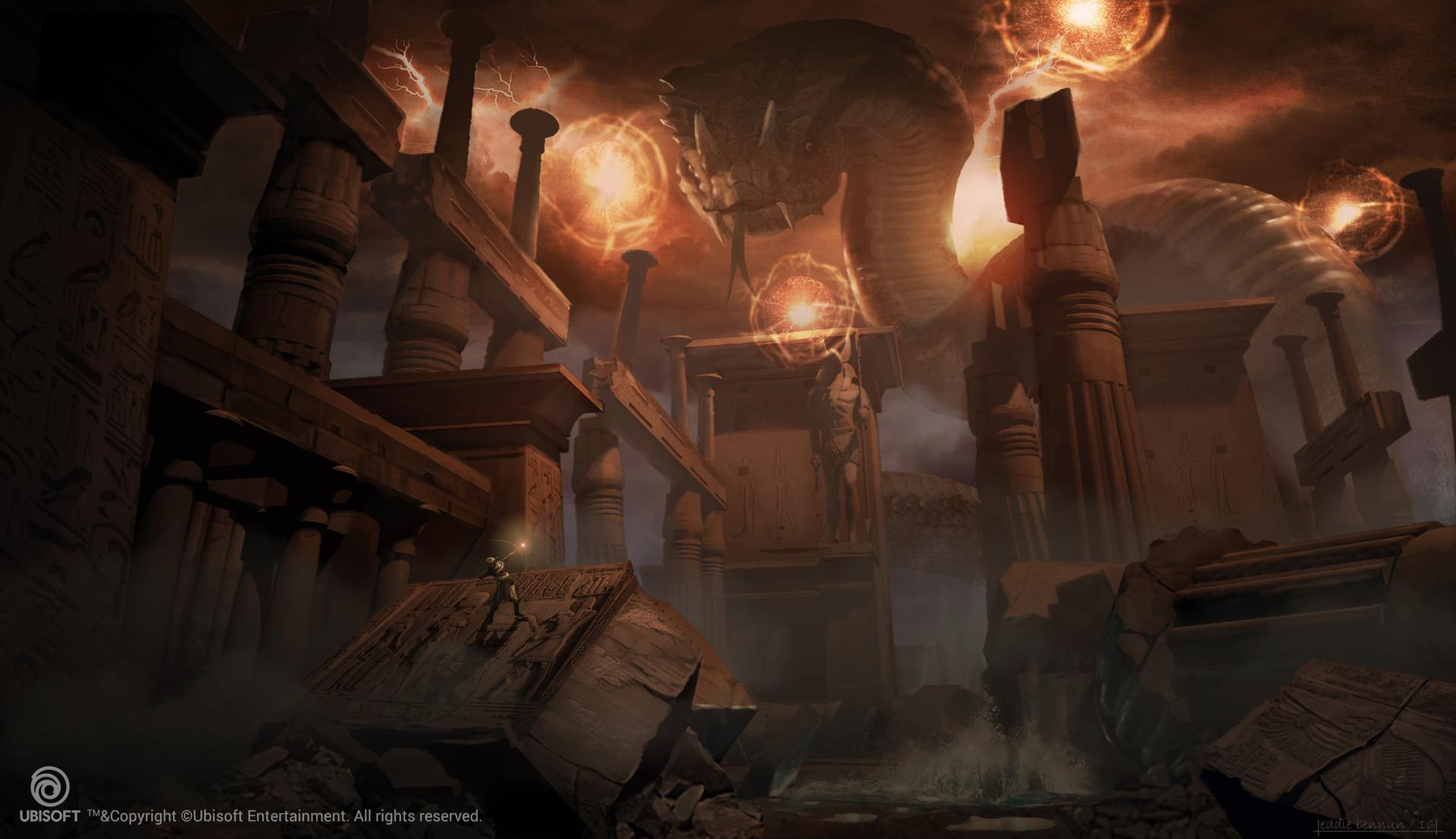 ArtStation Masterclasses 2 Spotlight: Eddie Bennun
