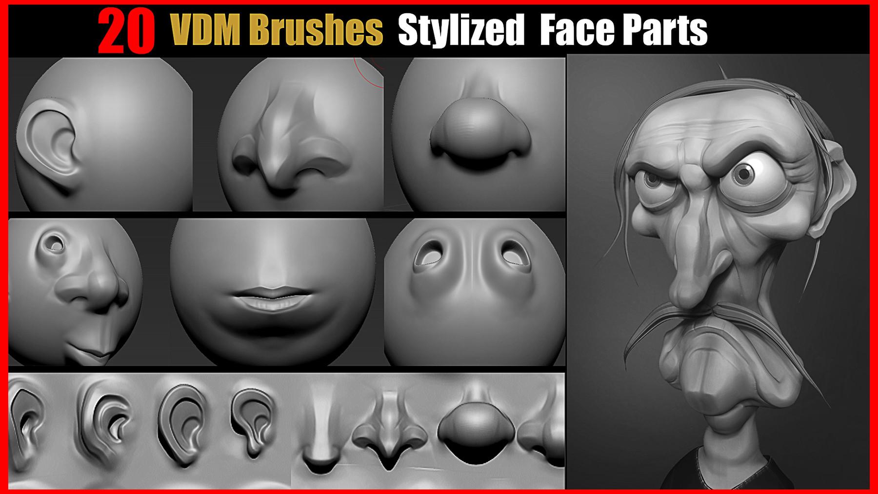 ArtStation Marketplace: Heads and Facial Assets - ArtStation Magazine