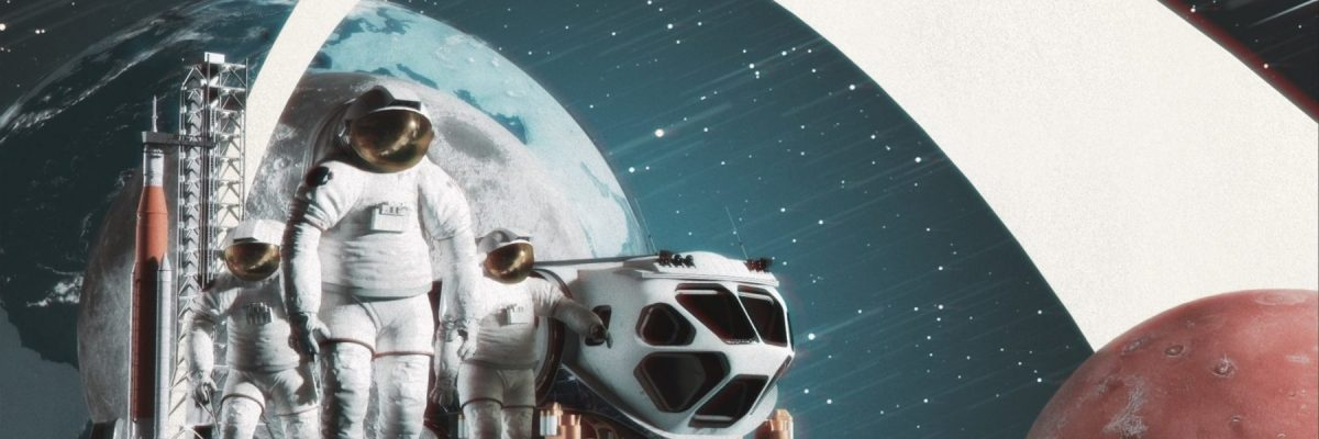 Designing out of this world space art in 3D with Adobe