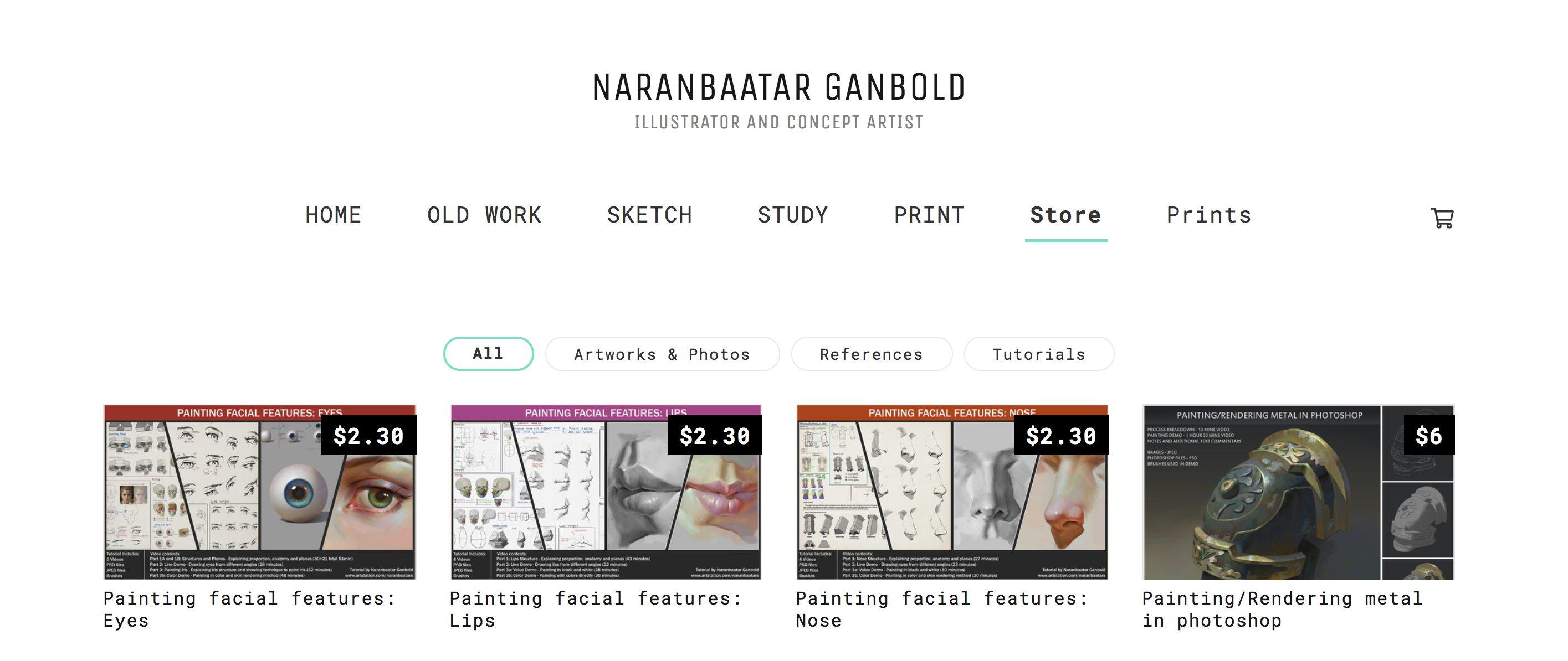 Marketplace Success Story: Naranbaatar Ganbold - ArtStation