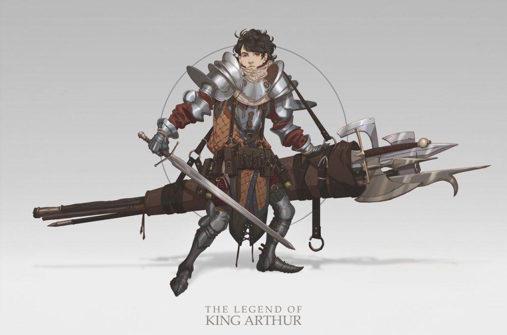 Honourable Mention, The Legend of King Arthur: Character Design