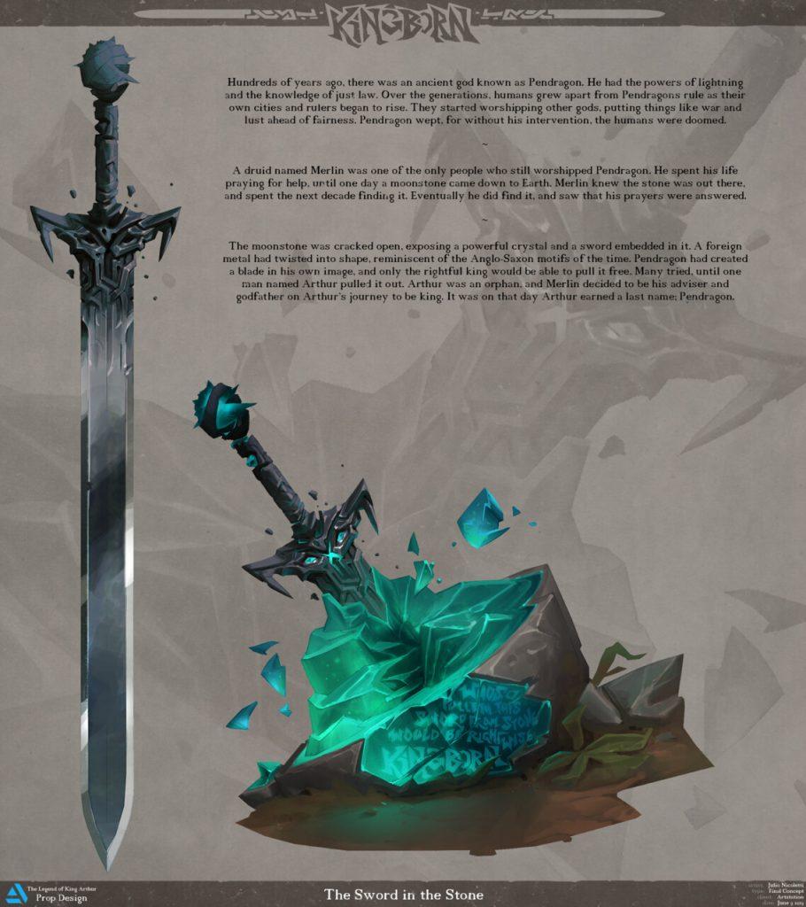 1st Place, The Legend of King Arthur: Prop Design