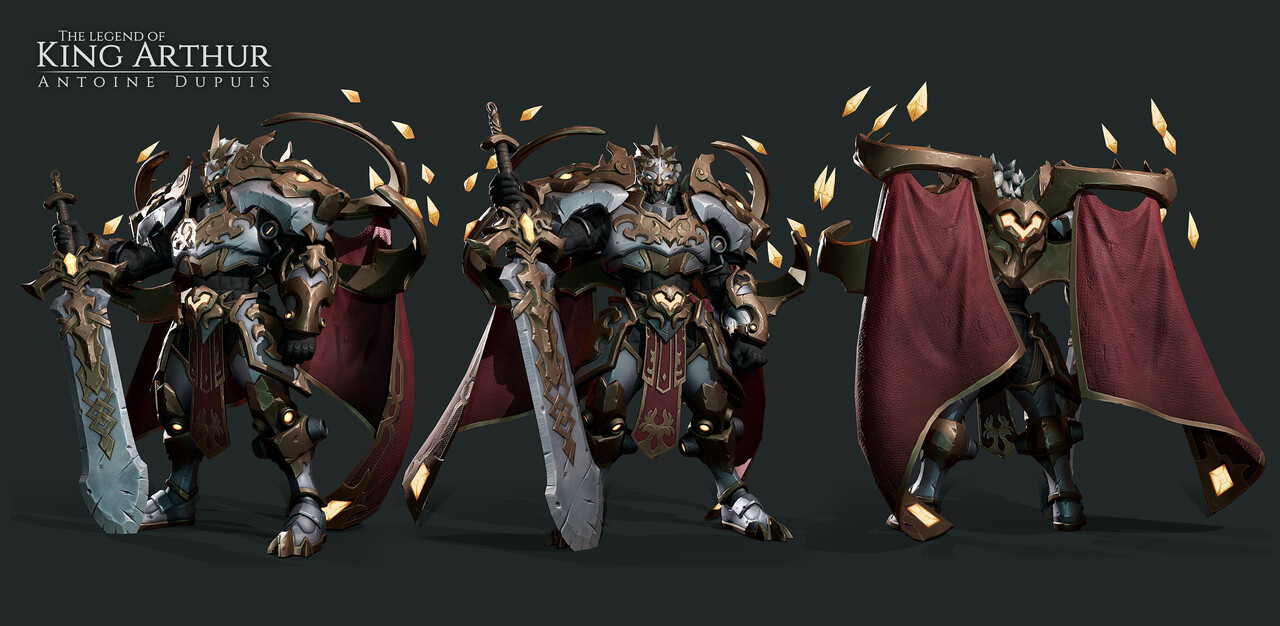 Legend of King Arthur Challenge: Game Character Winners ...