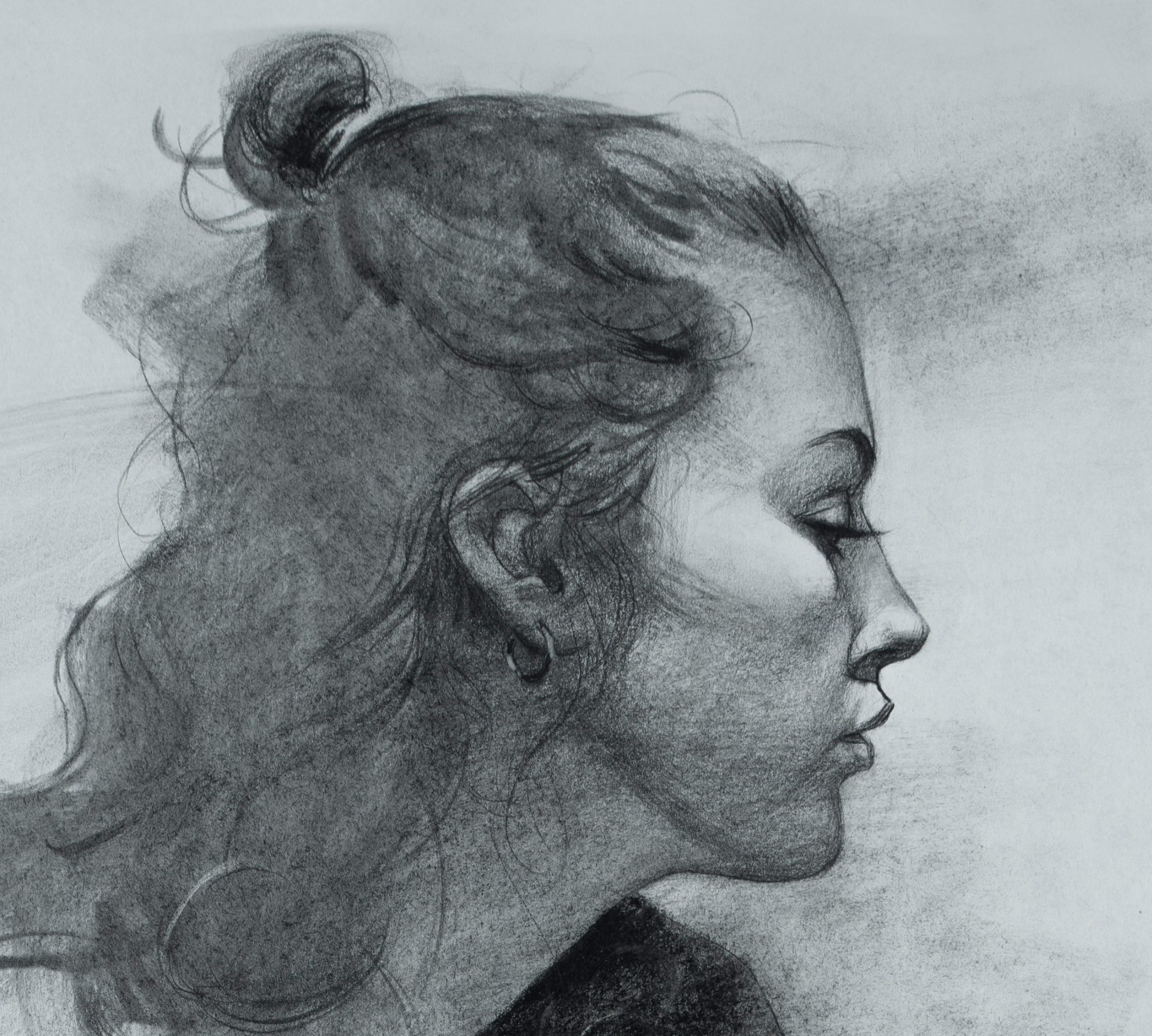 Drawing in Charcoal with Chris Petrocchi