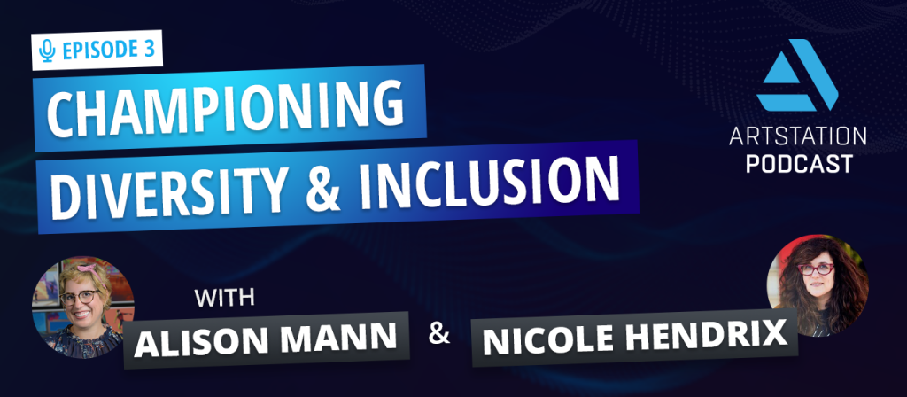 A title image reading CHAMPIONING DIVERSITY & INLCUSION with photos of Alison Mann and Nicole Hendrix
