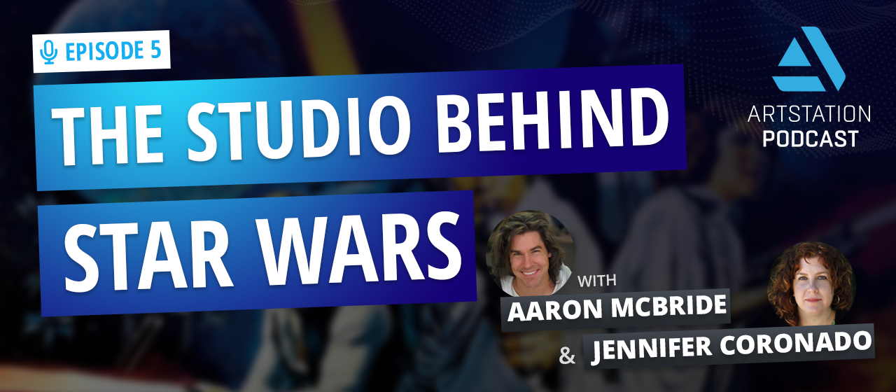 """A title image that reads """"THE STUDIO BEHIND STAR WARS"""""""