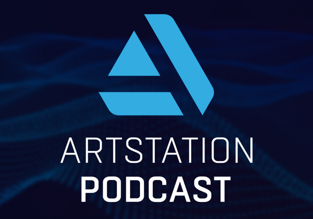 A title image that reads ARTSTATION PODCAST