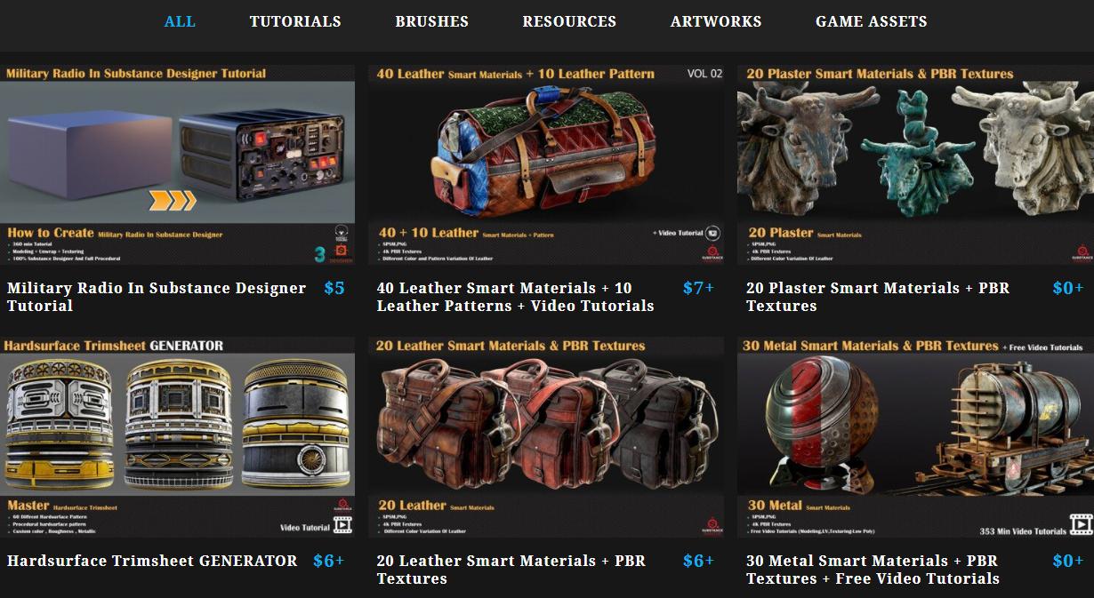 Screenshot of Milad's integrated store on his portfolio website