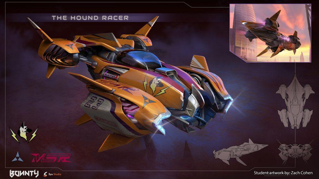 Space ship concept art