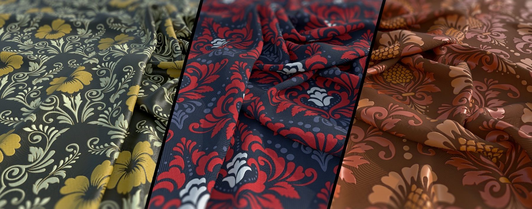 3D rendered fabric