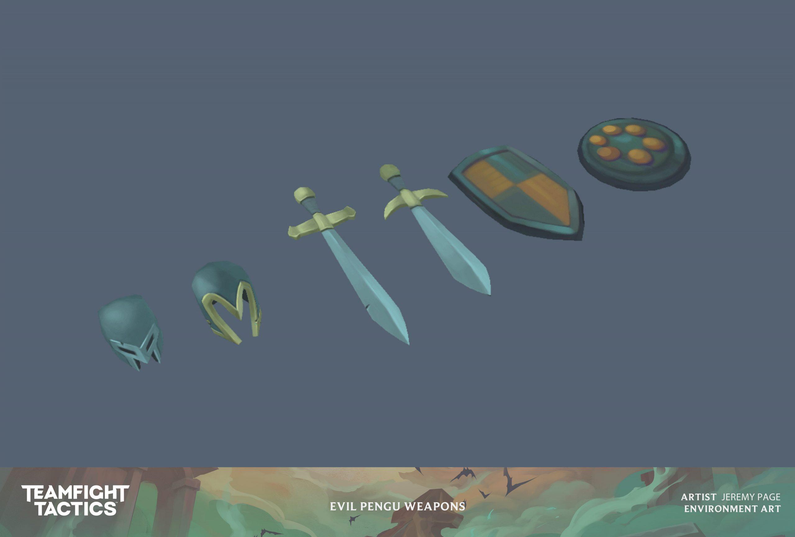Riot Games Team Fight Tactics: Reckoning Art Blast