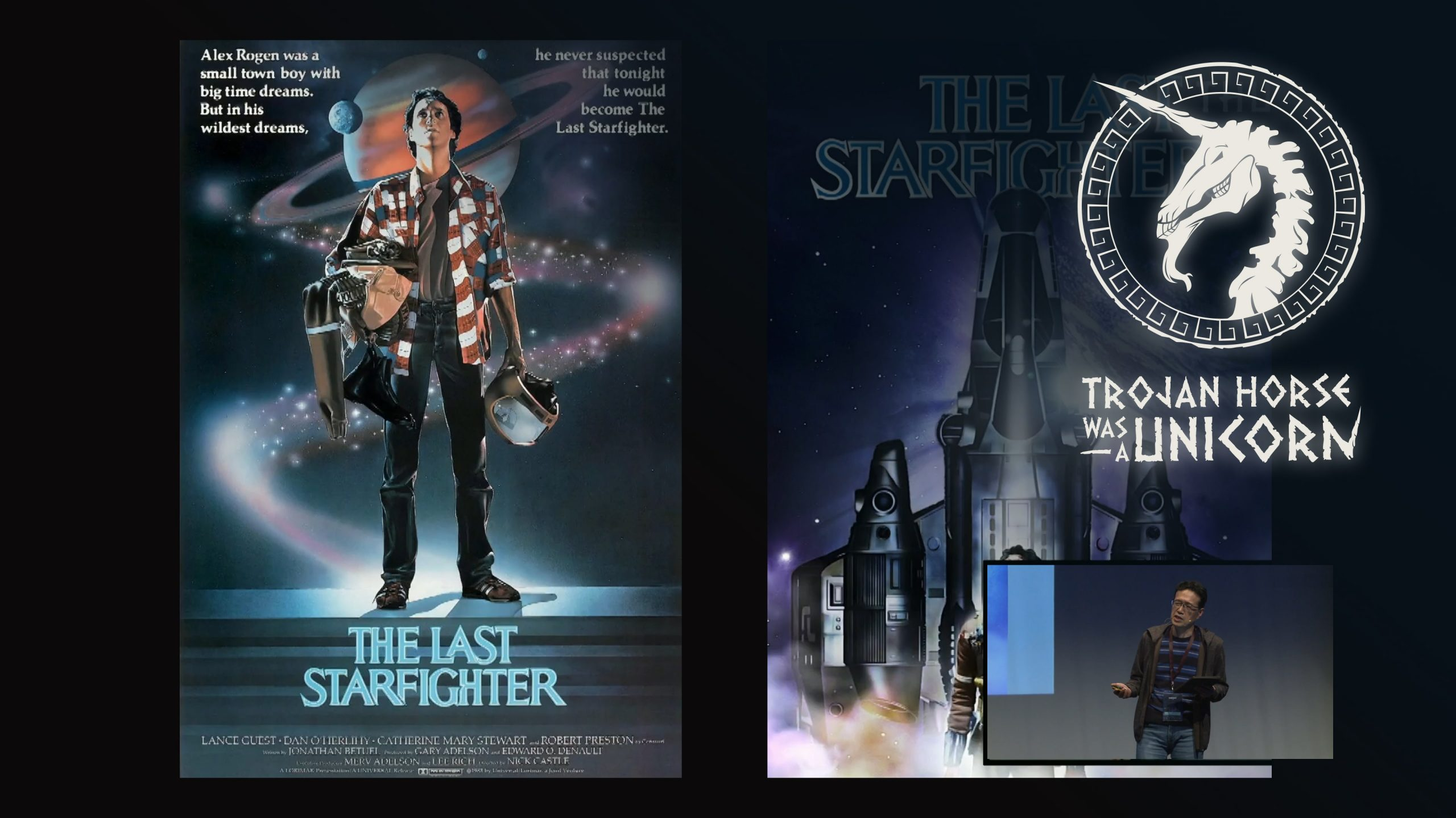 Poster covers for the last starfighter