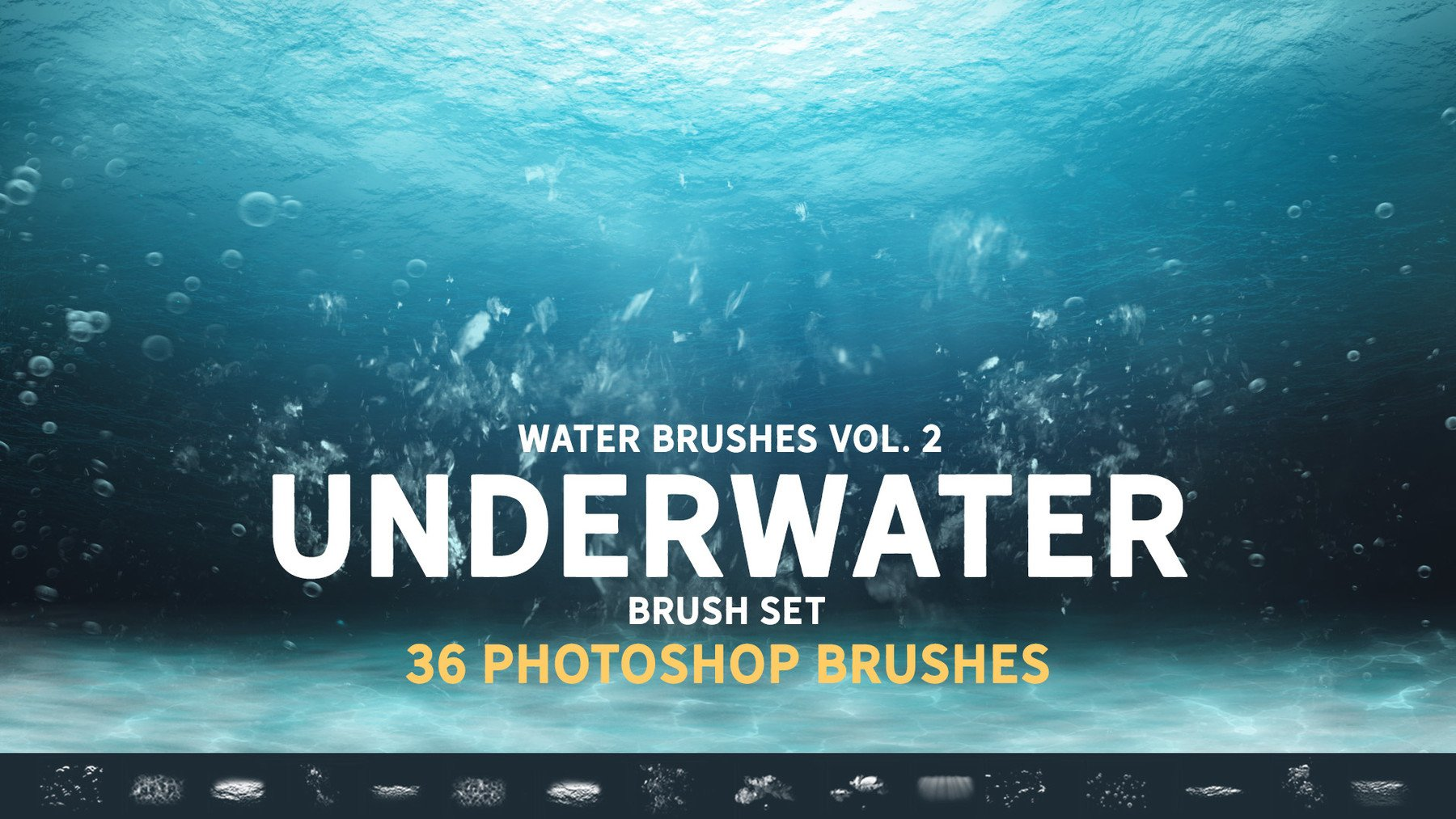 title card for the Underwater Brush Set